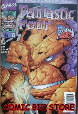 Fantastic Four #10  (1999) 1St Printing Bagged & Boarded Marvel Comic