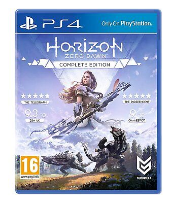 Horizon Zero Dawn Complete Edition PS4 NEW DISPATCHING TODAY ALL BY 2 P.M.