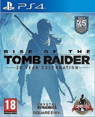 Rise of the Tomb Raider 20 Year Celebration PS4 NEW SEALED DISPATCHING BY 2 PM
