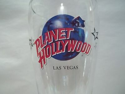 "Planet Hollywood   ""LAS VEGAS""  16 OZ. PILSNER BEER GLASS"