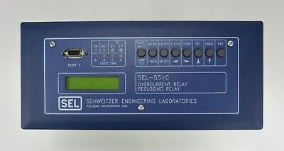 Schweitzer 0551C0BX534X SEL-551C Overcurrent and Reclosing Relay
