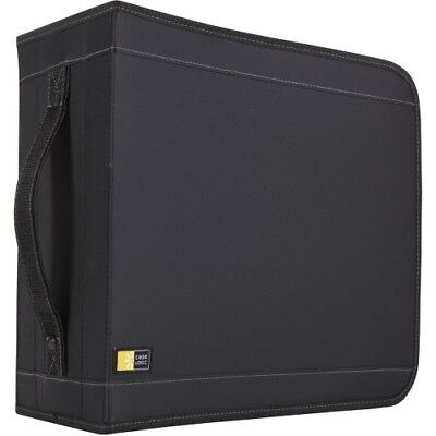 NEW Case Logic CDW-320 336 Capacity CD Wallet Optical Disc Nylon Black CDW320