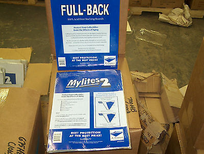 50 E. Gerber Magazine Comic Book Mylites 2 Bags (900M2) & Full Backs (858FB)
