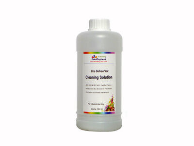 1 Liter Eco Solvent Cleaner Cleaning Solution for Roland Mutoh Mimaki USA Seller
