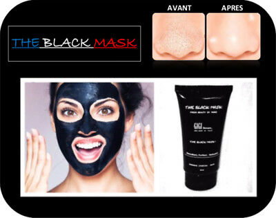 BLACK MASK (France), Masque Charbon , Retire Points Noir .