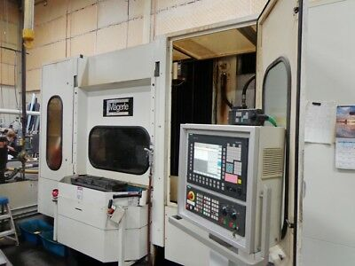 Magerle Model MGC-180-32 CNC Creep Feed Grinder