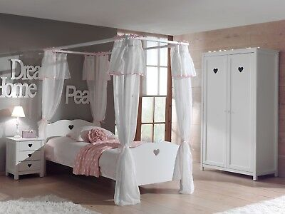 anastasia himmelbett kinderbett himmel m dchen prinzessin bett eur 439 00 picclick de. Black Bedroom Furniture Sets. Home Design Ideas