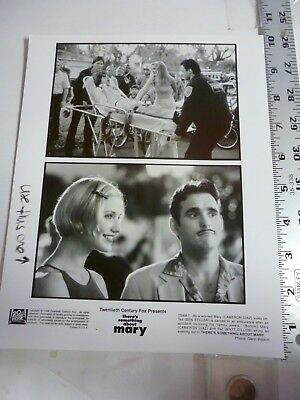 """Vintage Glossy Press Photo Cameron Diaz Ben Stiller """"Something About Mary"""" 1998"""