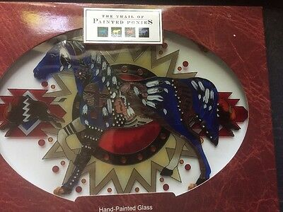"""Trail Of Painted Ponies """"sounds Of Thunder"""" Horse Suncatcher  Nib"""