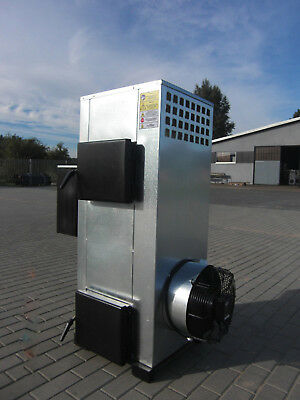 Industrial waste oil wood burner  heater  garages offices  Combined 30kW 2in1Max