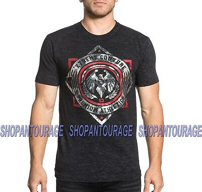 Xtreme Couture Shock Trooper X1693 Men`s New Short Sleeve T-shirt By Affliction