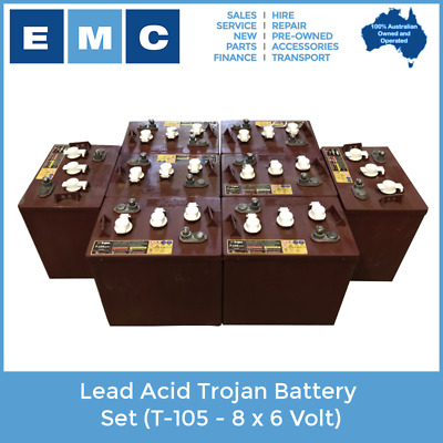 Trojan Battery Set - 8 x 6 Volt (T-105)