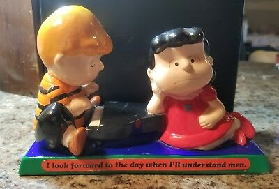 Determined productions 1971 Peanuts Lucy and Schroeder.SNOOPY CHARLIE BROWN