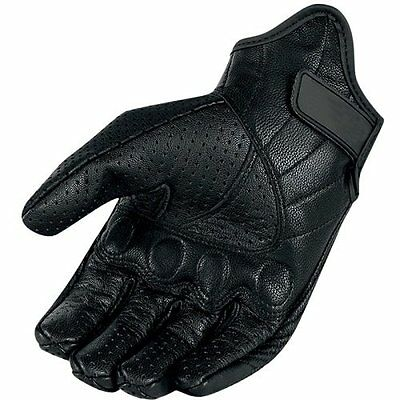 Men Women Summer Windproof Leather Full Finger Glove Tactical Motorcycle Outdoor
