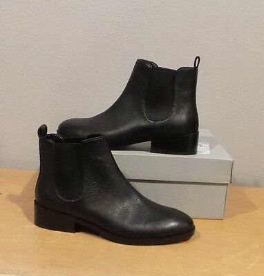 db9d2fb8b2e NEW Cole Haan LANDSMAN BOOTIE BLACK Leather Pull On Ankle Boot SHORT SIZE 10