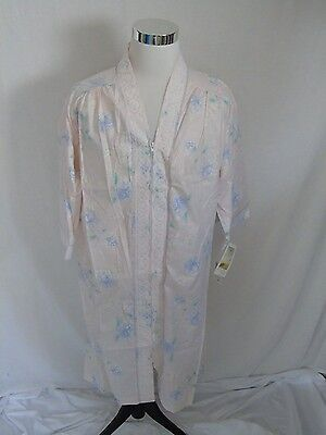 Komar Nightgown Pink Flowers M