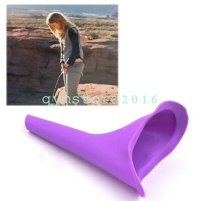 Lady Female Urinal Womens Elegence Pez Travel Stand Up Pee Cup Urination Device