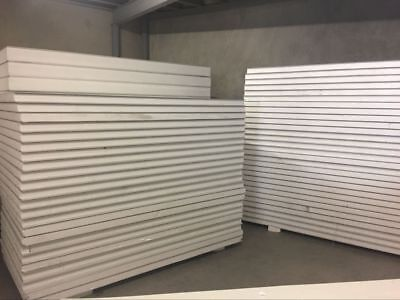 Insulated EPS Coolroom Wall panel/ Roof Panel  75mm ,1180mm width