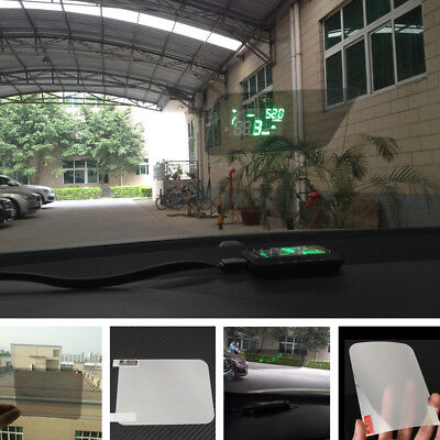 Premium HUD Head Up Display Special Reflective Film  For Car Without Mucilage