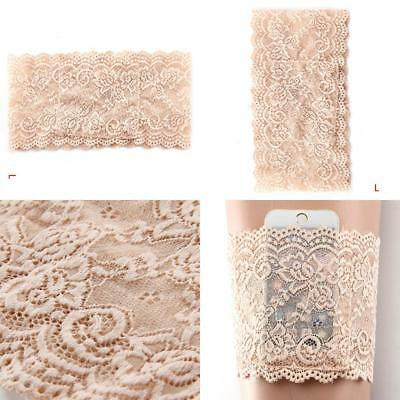 Elegant Non Slip Lace Elastic Sock Anti-Chafing Thigh Bands Nice Nude L Style