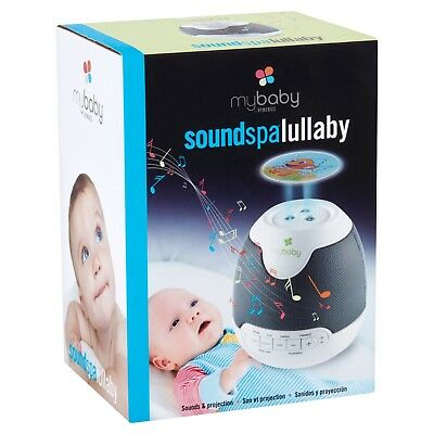Mybaby SoundSpa Lullaby Projection And Sounds Night Light HoMedics (NEW)