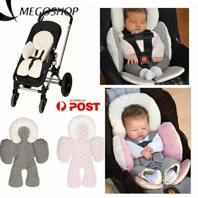 Newborn Baby Car Seat Stroller Cushion Pad Liner Mat Head Body Support Pillow C2