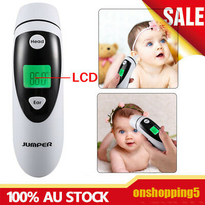 Baby Adult Safety Digital Body Forehead Infrared Non-Contact Fever Thermometer O