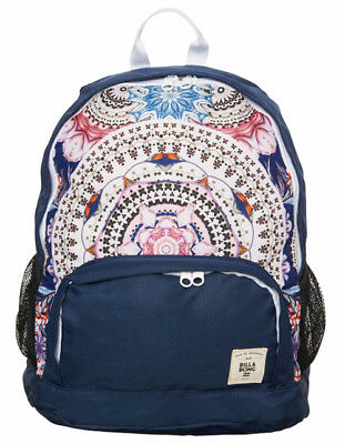 Billabong Girls New Backpack Bag School Womens Ladies Gym Uni Navy Haze Brand