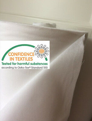 EB35131 100%Cotton Woven Fusible (Iron on) Interfacing Lt-Med Weight - 90cm wide