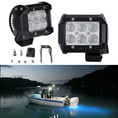 18w 7 cree led work light bar spot beam offroad 4wd ute suv fog 18w 7 cree led work light bar spot beam offroad 4wd ute suv fog driving mozeypictures