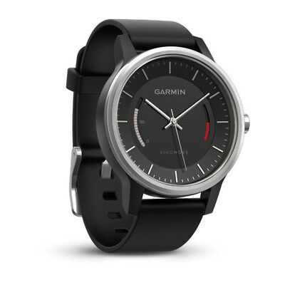 Garmin Vivomove Sports Watch Activity Tracker Sleep Monitor GPS Tracking - Black