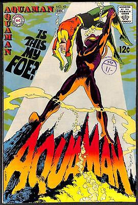 Aquaman #42 VFN 2nd Appearance of Black Manta