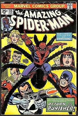 Amazing Spider-Man #135 FN- 2nd App Punisher