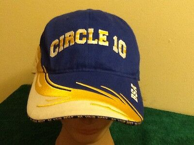 Boy Scouts of America BSA Circle Ten 10 Council Cap, Hat Adjustable Racing Style