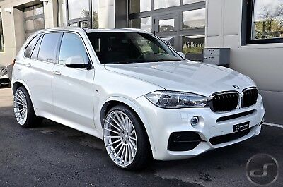 neu hamann anniversary evo 22 zoll felgen silber bmw x5. Black Bedroom Furniture Sets. Home Design Ideas