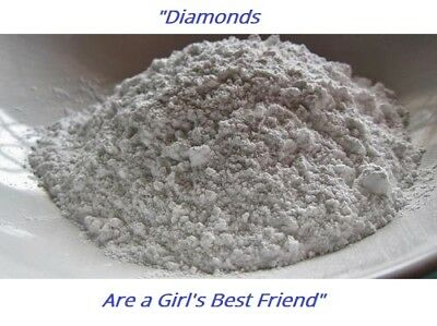 100% Natural Diamond Powder/Dust very fine 0-0.5 Micron for variousUse Cosmetics
