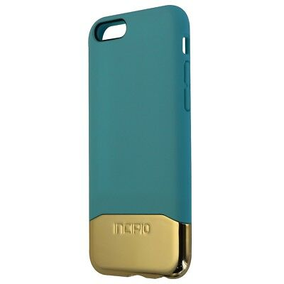 Incipio Slider Series Protective Case Cover for iPhone 6s 6 - Teal / Gold