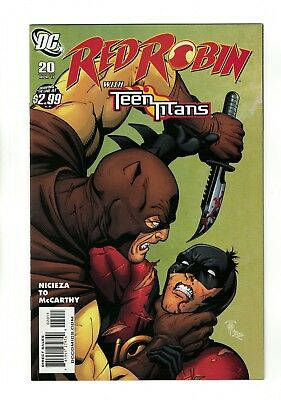 Red Robin #20   with Teen Titans   DC Comics - April 2011