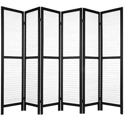 NEW Monochrome 6 Panel Room Divider i.Life Room Dividers