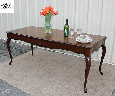 Beautiful BAKER Furniture Country French Walnut FARM HOUSE HARVEST Dining  TABLE