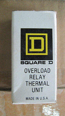 Nib Square D Overload Thermal Relay Unit B40 Heater