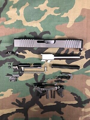 New Complete Upper Slide Barrel + Lower Parts For Glock 19 9mm Gen 1-3 Slide G19