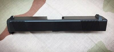 New Slide For Glock 9mm Gen3 G19 With Front & Rear Serrations + Sights!