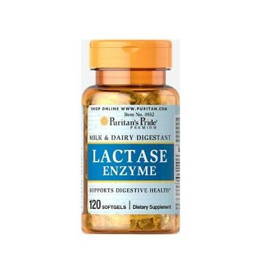 Lactase Enzyme 125mg 120cps