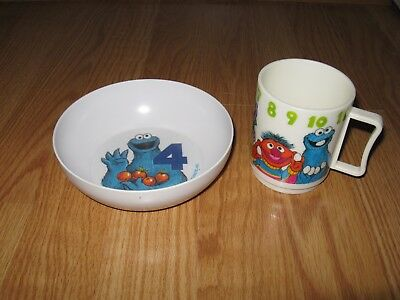 Sesame Street Bowl and Cup set