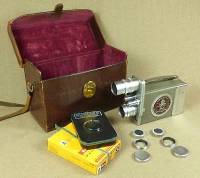 BELL & HOWELL 16mm - 603T AUTOLOAD TWIN TURRET CINE CAMERA_Taylor Hobson Lenses