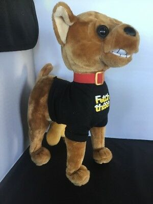 Cahones The Singing Dog By Gemmy Chihuahua Large Balls Singing Plush Animated EE