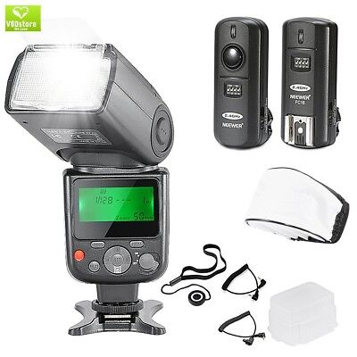 Neewer NW-670 TTL Flash Speedlite with LCD Display Kit for Canon DSLR Cameras,In