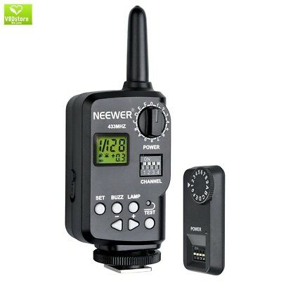Neewer 433MHz Wireless 16 Channel Flash Remote Trigger with Receiver for TT850,