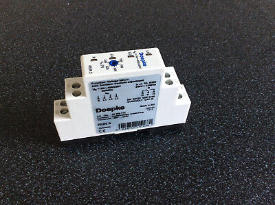 Doepke Undervoltage measuring relays, Switching threshold 160 V ... 2